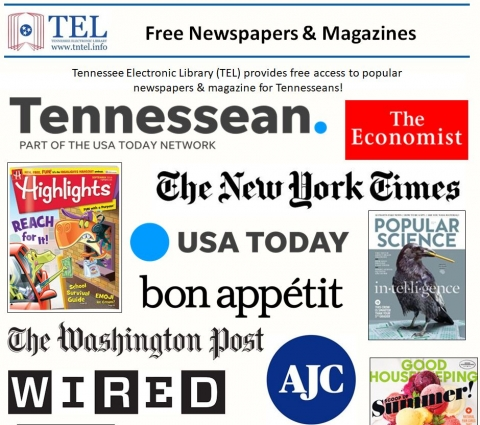 Newspaper and magazine titles