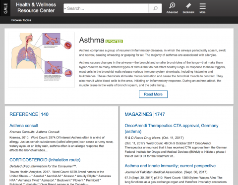 Health and Wellness Resource Center screenshot